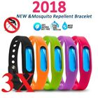 3pcs  Natural Anti Mosquito Insect & Bug Repellent Bracelet Bands