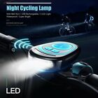Bike USB Charge Bell Ring Multifunction Cycling Bicycle Horn Cycle Light DA