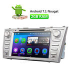 "Android 7.1 8"" Car Stereo DVD Player GPS Navigation for Toyota Camry 2007 - 2011"