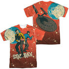 STAR TREK KIRK SPOCK TEAMWORK  Licensed Adult Men's Graphic Tee Shirt SM-3XL on eBay