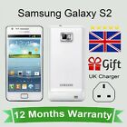 Unlocked Samsung Galaxy S2 Android Mobile Phone - 16GB White