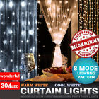 100/304 LED Fairy String Curtain Light for New Year Christmas Party Decoration