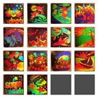 VINTAGE 80  s 90  s HOLOGRAPHIC 3D LASER MIRROR STICKER LOT Set 14 Or Individually