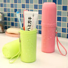 Travel Toothbrush Case Cover Toothpaste Holder Storage Orang