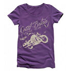 Triumph Megan V2 Official Motorcycle Biker TShirt Womens RRP £28 £9.95 GBP on eBay