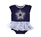 NFL Dallas Cowboys Newborn & Infant Prissy Tutu Bodysuit- Navy