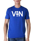MENS LOS ANGELES DODGERS VIN MIC MICROPHONE BRAND NEW BASEBALL GRAPHIC T SHIRT on Ebay