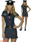Ladies Fever Naughty Cop Costume Adults Police Women Fancy Dress Officer Outfit