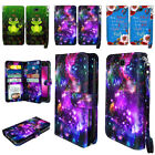 For LG X Power 2 LV7/ X Charge/ Fiesta LTE Flip ID Card Holder Wallet Cover Case