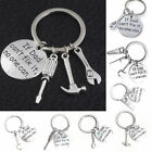 DIY Wrench Spanner Rule Hammer Hand Tool Keychain Keyring Key Finder Dad Gift