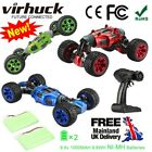 Virhuck V03 High Speed 4WD Climbing Off Road RC Car USB 2-Sided Stunt Vehicle UK