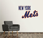New York Mets Wall Decal Baseball Game MLB Custom Sticker Vinyl Mural SR67 on Ebay