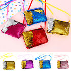 Cute kids Girls Coin Purse Paillette Pocket Mermaid Wallet Storage Bags Pouch