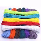 One Stand Cores Paracord Rope Cord For Jewelry Making Wholesale 100 Colors 2mm