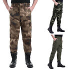 Men Wear Resistance Zipper Camouflage Overalls Training Working Pants TrouserS