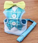 Puppy Harness & Leash Set Dogs Soft Mesh Small Pets Walk Strap Vest Collar
