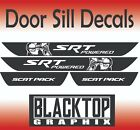 SCAT PACK POWERED BY SRT Dodge Charger  Door Sill Decals 2015+ 2017 2018 2019 $19.99 USD on eBay