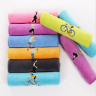 12x39inch Breathable Polyester Towels Fast Dry Gym Fitness Workout Towel image