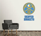 Denver Nuggets Wall Decal Logo Basketball NBA Art Sticker Vinyl LARGE SR126 on eBay