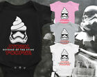 STAR WARS INSPIRED BABY VEST FIRST ORDER STORM POOPER REVENGE OF THE STINK SITH