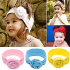 Cute Flower Bow Knot Girl Baby Headband Elastic Turban Toddl