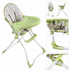 Baby High Chair Infant Toddler Feeding Booster Seat Folding Portable 4 Colors