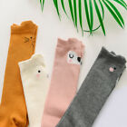 EG_ BABY KIDS GIRLS BOYS CUTE CARTOON ANIMAL LONG KNEE-HIGH COTTON SOCKS TIGHTS