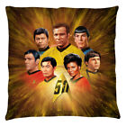 Star Trek Original Series 50th Anniversary CREW Printed Throw Pillow Many Sizes on eBay