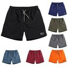 US Summer Men Polyester Shorts Baggy Gym Sport Jogger Sweat