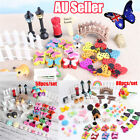 58/88pcs Fairy Garden Dollhouse Decor Miniature Ornament Kit Diy Novelty Gift Bo