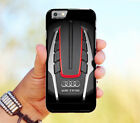 Audi s8 engine Hybrid Case for iPhone 6 6+ 6s 6s+ 7 7+ 8 8+ X