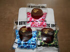 AUTHENTIC APE BAPE ABC CAMO 2WAY NECK PILLOW GREEN BLUE PINK NEW CUSHION RARE