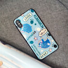 iPhone X 8 6s 7 Plus Case Blue-Ray Patterned Shockproof Silicone Slim Back Cover