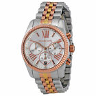 Michael Kors MK5735 Women's Lexington Chronograph Tri-Tone Watch