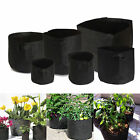 1/5/10 Pack Fabric Grow Pots Aeration Plant Bag with handle 1/2/3/5/7/11 Gallon