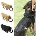 Dog Harness Adjustable Nylon Police K9 Pet Safety Training Tactical Vest Straps