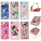 Dynamic Liquid Glitter Quicksand Pattern Case Cover for iPhone X 5 S 6 7 8 Plus
