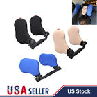 Car Seat Headrest Pad Memory Foam Pillow Head Neck Rest Side Support Cushion US