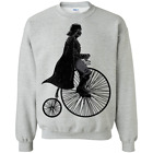 Rollin' with The Dark Side Funny Graphic Screen Pullover Sweatshirt