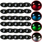 30x 9W LED Rock Lights Bar for JEEP Car Truck Boat Underbody Trail Fog DRL Lamp
