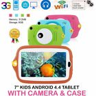 7 inch Tablet 8GB 0.3MP Camera Android 4.4 Kids Tablet + Silicone Cover NEW XO