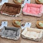 Top Quality Large Breed Dog Bed Sofa Mat House 6 Size Warm Soft Fleece Cat Pet B