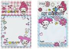 SANRIO MY MELODY 50 SHEETS DIE CUT NOTEPAD/CUTE NOTEPAD/SMALL NOTE (2018)