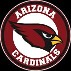Arizona Cardinals Circle Logo Vinyl Decal / Sticker 10 sizes!! $3.99 USD on eBay