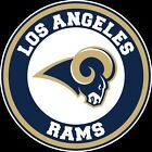 Los Angeles Rams Circle Logo Vinyl Decal / Sticker 10 sizes!! $3.99 USD on eBay