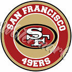 San Francisco 49ers Circle Logo Vinyl Decal / Sticker 5 sizes!!