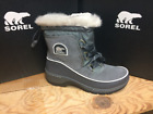 SOREL WOMEN'S TIVOLI III  SNOW BOOTS NL2532-052(1749361) QUARRY CLOUD GREY