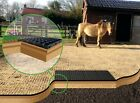 HORSE RIDING MENAGE GRID+GEOTEXTILE MEMBRANE SHEET EQUINE SCHOOL PADDOCK ARENAsm