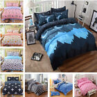 4 Pcs Sets Classic Polyester Bedding Bed Linens Duvet Cover Bed Sheet Pillowcase image
