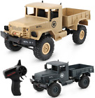 WPL 1:16 Electric RC Crawler Military Car Off Road WD 2.4G Remote Control Truck